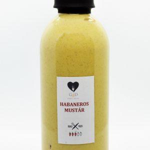 Habaneros mustár enyhén csípős