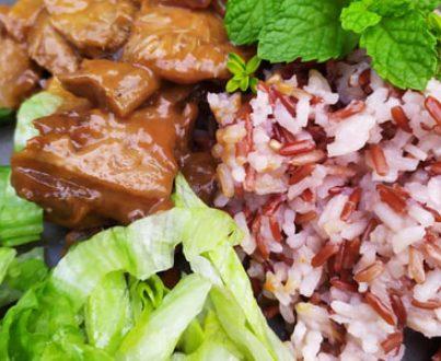Süngombás rizottó tarkarizzsel vegán módon