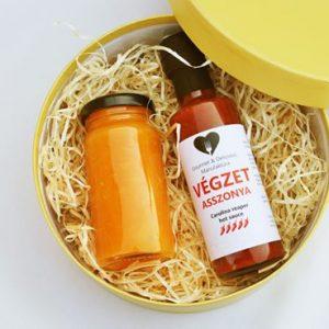 Gourmet Selection díszdobozos válogatás chilivel és lekvárral