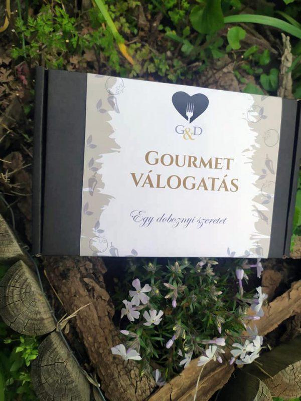 gourmet selection válogat doboz ajándékdoboz