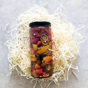 Chilis savanyúság
