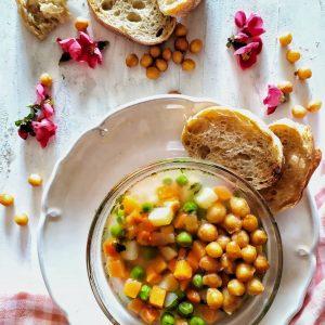 tavaszi zöldségleves gazdagon Szabi kedvence szósszal